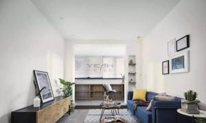 打破设计常规!这种不装电视的客厅背景墙简直美翻了!