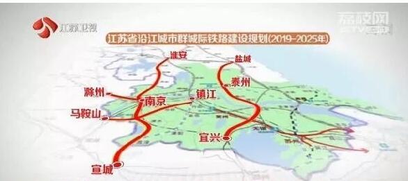 宁淮铁路年底开工!宿迁到南京更方便啦