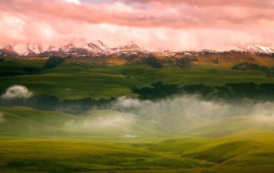 景色比肩喀拉峻!新疆又一条徒步线路出炉,冷门但绝美