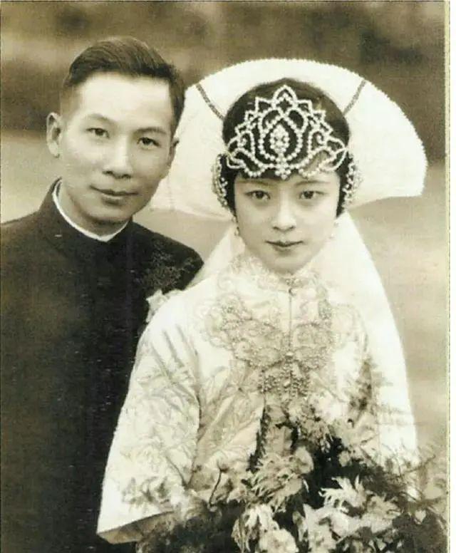 民国名媛的婚纱照,谁最好看