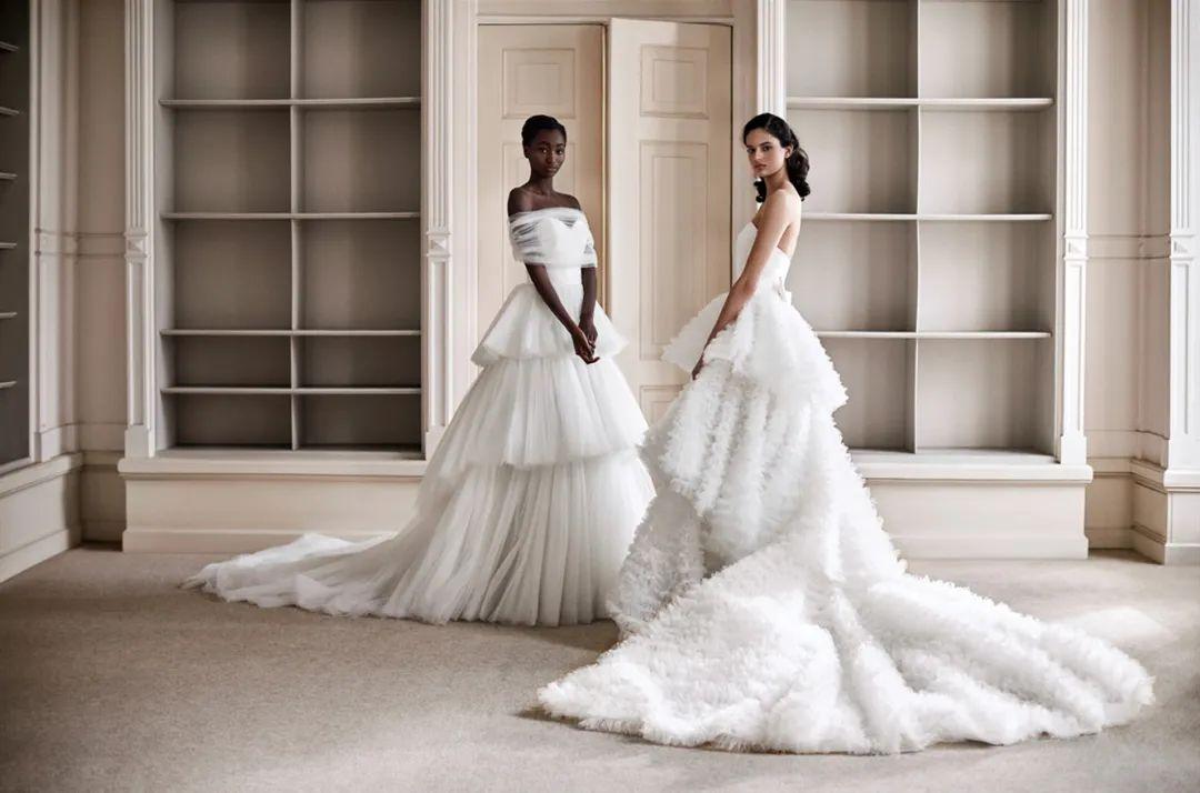 春夏婚纱系列美着呢,怎么穿都合适