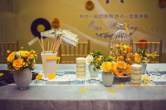 婚礼中的花艺色彩搭配!婚礼人必备!让你的婚礼亮丽出彩