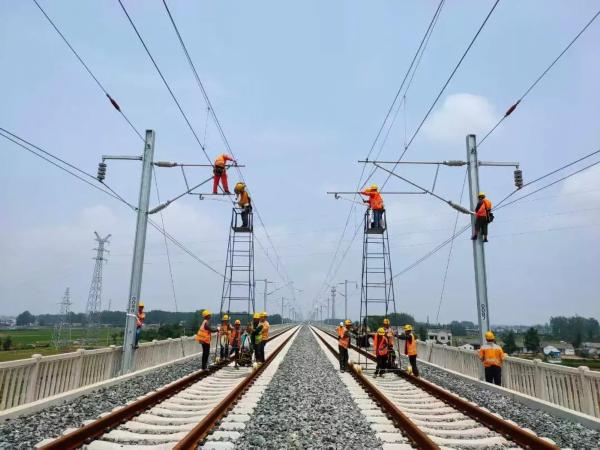 年底泗阳到南京最快1小时!连淮扬镇铁路建设最新进展!